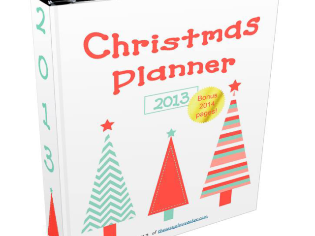 Christmas Countdown Planner by Jill Craft